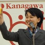 綾瀬市議に当選したはたい陽子より乾杯
